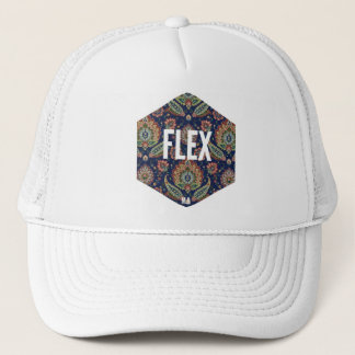 Fabric FLEX to trucker CAP