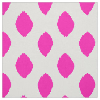 Fabric: Ikat pattern in pink Fabric