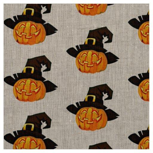 fabric pumpkin jack o lantern Halloween