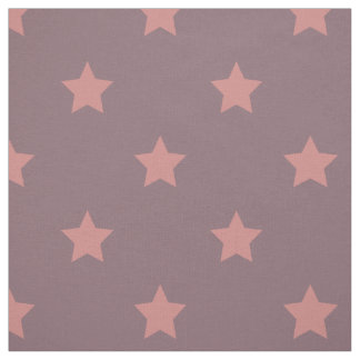 Fabric: Purple & pink stars Fabric