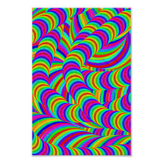Fabric string posters