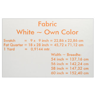 Fabric uni White ~Own Color