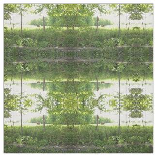 Fabric with Pasture scene