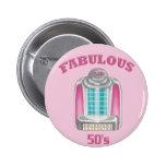 Fabulous 50's pin