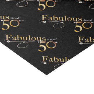 Fabulous and 50 tissue paper