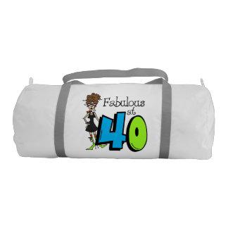 Fabulous at 40 Duffle Bag Gym Duffel Bag
