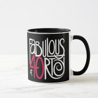 Fabulous at 40rty white Mug