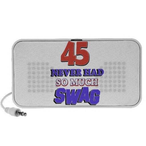 Fabulous at 45 laptop speaker