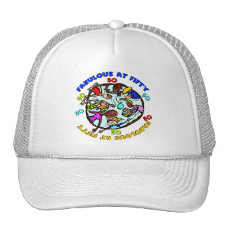 Fabulous At 50th Birthday Gifts Trucker Hat