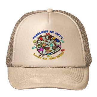 Fabulous At 50th Birthday Gifts Cap