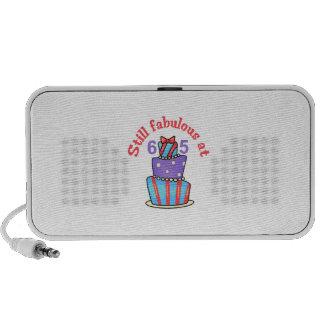 FABULOUS AT SIXTY FIVE TRAVELLING SPEAKER