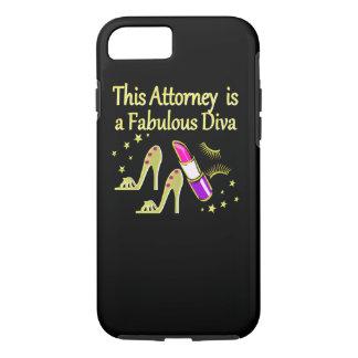 FABULOUS ATTORNEY DIVA DESIGN iPhone 7 CASE