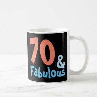 Fabulous Black Retro Birthday Coffee Mug