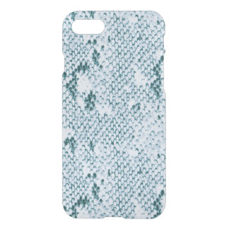 Fabulous Blue and White Snakeskin iPhone 8/7 Case