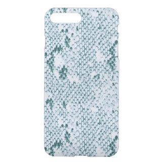 Fabulous Blue and White Snakeskin iPhone 8 Plus/7 Plus Case