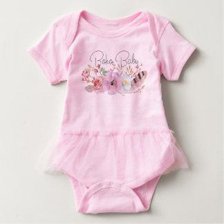 Fabulous Boho Baby Tutu Bodysuit