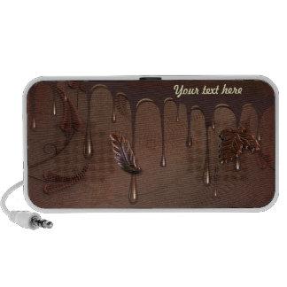 Fabulous Chocolate Travel Speakers