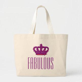 Fabulous Crown Jumbo Tote Bag