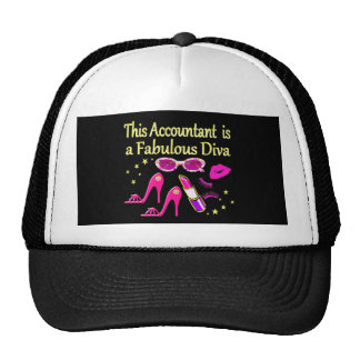 FABULOUS DIVA ACCOUNTANT DIVA CAP
