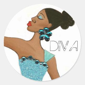 Fabulous Diva stickers