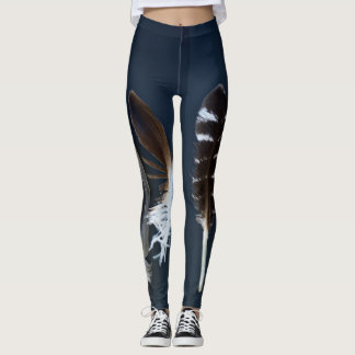Fabulous Feathers Leggings