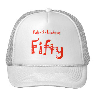 Fabulous Fifty 50th Birthday Gifts Hats