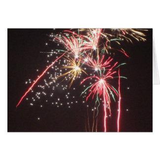 Fabulous Fireworks Card