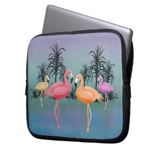 Fabulous FlamingosLaptop Sleeve