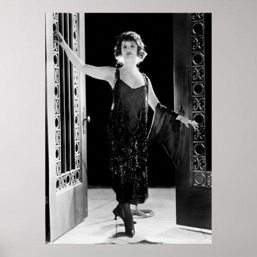 Fabulous Flapper Dress: 1920s Poster