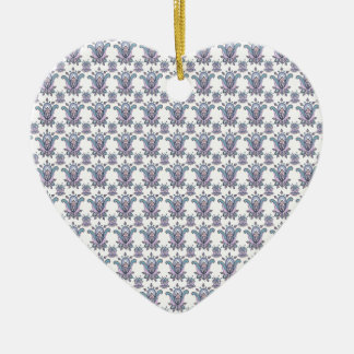 Fabulous Florals Ceramic Heart Decoration