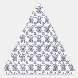 Fabulous Florals Triangle Sticker