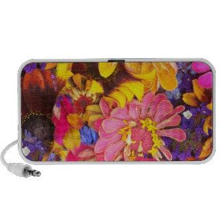 Fabulous Flowers iPhone Speakers