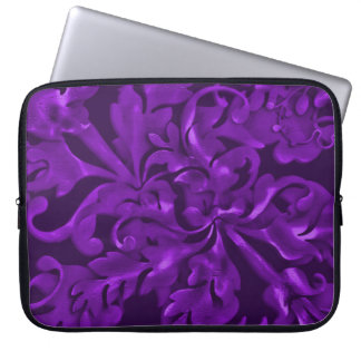 Fabulous Foliage Purple Laptop Sleeve