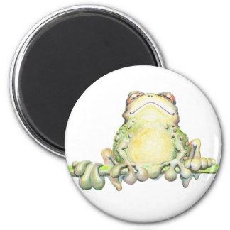 Fabulous Frog Refrigerator Magnet