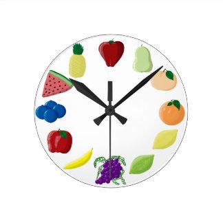 Fabulous Fruit Clock
