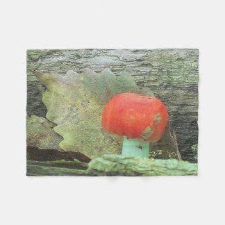 Fabulous Fungi Fleece Blanket