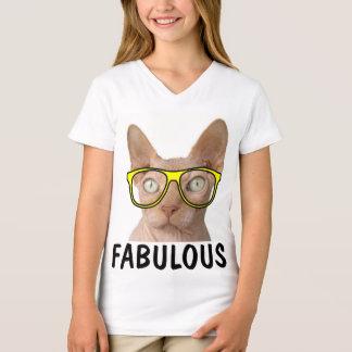 FABULOUS Funny Kids SPHYNX  Cat t-shirts