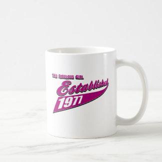 Fabulous Girl established 1977 Coffee Mug