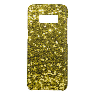 Fabulous Gold Faux Glitter Sparkle Print Case-Mate Samsung Galaxy S8 Case