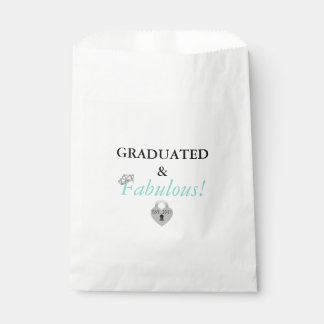 Fabulous Graduation Celebration Favor Bags
