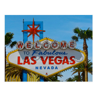 Fabulous Las Vegas - sans wires Postcard