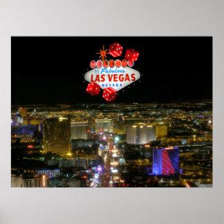 Fabulous Las Vegas Strip Poster