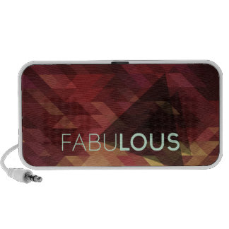 Fabulous luscious background pattern laptop speaker