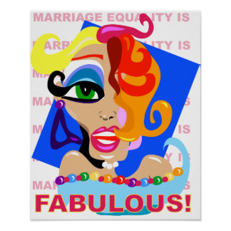 Fabulous! (Marriage Equality is) Poster
