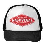 Fabulous NASHVEGAS TM Diamond Logo Trucker Hat! Cap