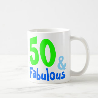 Fabulous Neon Birthday Coffee Mug