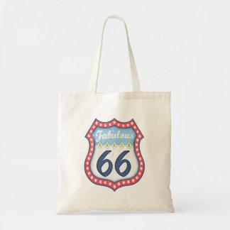 Fabulous Rt. 66 Tote Bag
