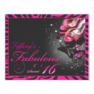 Fabulous Sweet 16 Invitations
