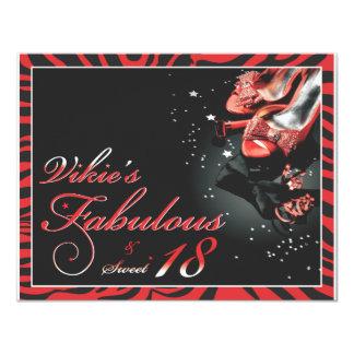 Fabulous & Sweet 18 - Vickie Card