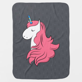 Fabulous Unicorn Baby Blanket
